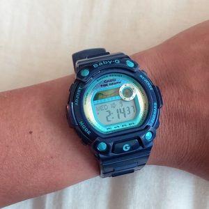 Blue Casio Baby G Watch (G-Shock)!!